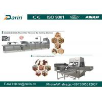 Buy cheap industrial peanut candy Cereal Bar Making Machine with Siemens PLC & WEG Motor from wholesalers