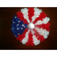 Quality Silk vases Artificial Decorative Flowers Garlands with the Stars and Stripes Design wholesale