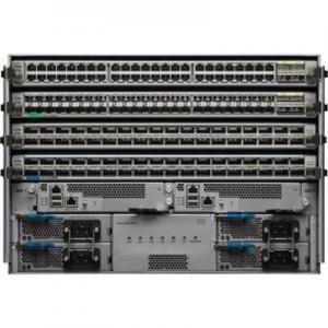 Cheap 3 Layers Cisco Nexus 9504 Switch , Cisco Nexus 9504 Datasheet With 4 Linecard for sale