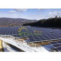 Quality Custom Solar Panel Mounting Bracket Flexible Design Simple And Fast Installation wholesale