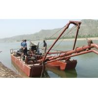 Quality jet suction type river sand gold mining ship wholesale