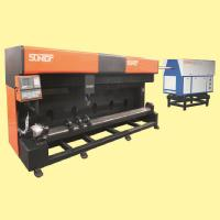 Quality Compressed air Round Die Board Laser Cutting Machine WITH High power CO2 laser wholesale