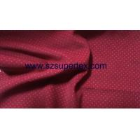 Quality 21W Cotton Corduroy Velvet Fabric with Pigment Dot Print Soft Handfeel without Wash wholesale