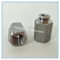 China jinhan brand Stainless Steel Internal Thread Tube Connectors on sale