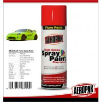 China Colorful Aerosol Spray Paint 5 Minutes Surface Dry Time For Wood / Metal on sale