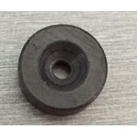 Quality Hard Diametrically Magnetized Ferrite Ring Magnet Round Custom Size Y30 Y35 wholesale