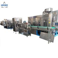 Quality Industrial Water Bottling Equipment / Mineral Water Machine 24 Filling Head wholesale