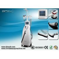 Quality Non Surgical Ultrasonic Liposuction Cavitation RF Slimming Machine Motorized Vacuum Roller wholesale