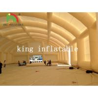 Buy cheap Durable Dome Inflatable Event Tent , Huge Tennis Field Inflytable Shelter from wholesalers