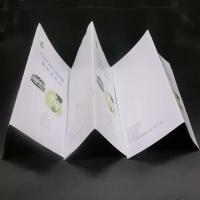 Quality Offset Paper Saddle Stitched Booklet With Glossy / Matte Lamination wholesale