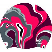 Quality Contoured Shape Silicone Swimming Caps, swim caps for men reversible Caps With Ear Guard wholesale