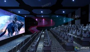 Quality SHUQEE Warm Welcomed SV 3D Cinema With Lifelike Picture Shock Resistance wholesale