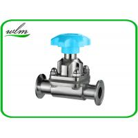 Quality Hygienic Sanitary Diaphragm Valve , SS Diaphragm Valve For Pharmaceutical Industry wholesale