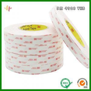 Quality 3m 4920 VHB high strength white foam tape wholesale