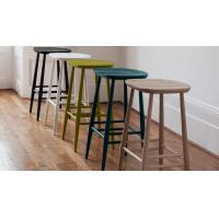 China Commercial Furniture Modern Bar Chairs Plywood Seat Bar Stool Solid Ash on sale