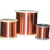 China 30 gauge Round Enameled Aluminium Magnet Wire for generator, inductive coil on sale