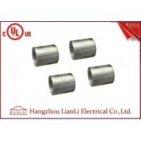 Buy cheap 1-1/4 inch 1-1/2 inch Electro Galvanized IMC Coupling 3.0mm Thickness Inside Thread product