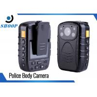 Quality Password Protection 16GB Wearable Police Body Cameras Wide Angle 140 Degree wholesale