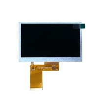 Quality 480x272 4.3 Inch Touch Screen / 6 O'clock Color TFT Lcd Display wholesale