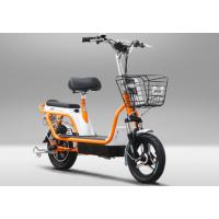 Quality Two Wheel Electric Bike Pedal Assist Electric Bicycle , 48V 12Ah Lead Acid Battery wholesale