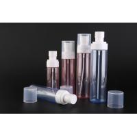 Cheap PET Plastic Cosmetic Spray Bottles / Pump Spray Bottle Custom Printing Or for sale