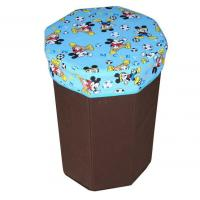 Cheap Promotional portable non - woven fabric storage box bag functional chair for sale