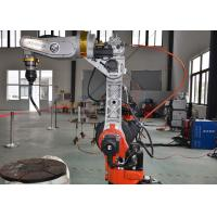 Buy cheap High Precision MIG Welding Robot Low Spatter CNC Waveform Control from wholesalers