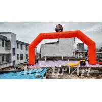 Quality host sale orange inflatable turkey inflatable party arch for thanksgiving day wholesale