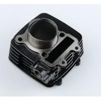 Quality Black Air Cooled Motorcycle Single Cylinder TVS STAR , Effective Height 51mm wholesale
