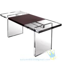 Quality acrylic glass table wholesale
