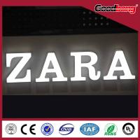 China arcylic vacuum forming chorme metal Channel Alphabet Letter Sign on sale