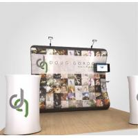 China Anti UV Tension Fabric Display System Retractable Trade Show Displays on sale