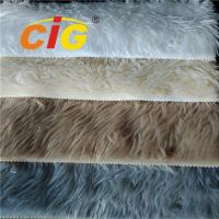 Buy cheap Colorful 100% Polyester Faux Fur Fabric For Seat Cover Auto Upholstery Fabric from wholesalers