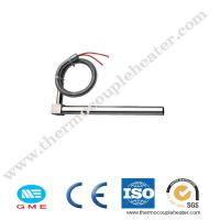 China 200W 300W 400W 500W Single Ended Heating Resistance Rod Cartridge Heater With Thermocouple K on sale