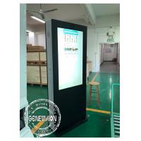 China Temperature Control Anti-Glare Advertising LCD Digital Signage Touch Screen Kiosk Monitor With HDMI Input on sale