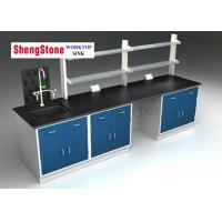 Quality Science Lab Countertops , Epoxy Resin Laboratory Countertops Strong Acid Resistance wholesale
