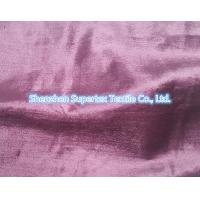 Quality Rayon Cotton Velvet Fabric Like Silk Effect With Slub In Reactive Solid Dyed wholesale