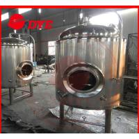 Quality 500 L Insulated Jacket Cooling Tank Or Beer Fermentation Tank wholesale