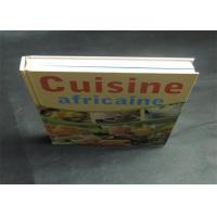 Quality Health Note Book / Cook Book Printing Pantone Color A4 B5 Case Bound Spot UV wholesale