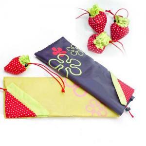 China strawberry nylon shopping bag on sale