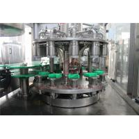 China 24 Head 3 In 1 Plastic Bottle Filling Machine For Beverage , Food , Chemical Industry on sale