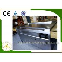 Quality 10 Seats SS Smoke Down Exhaustion Rectangle Electric Teppanyaki Table Grill wholesale