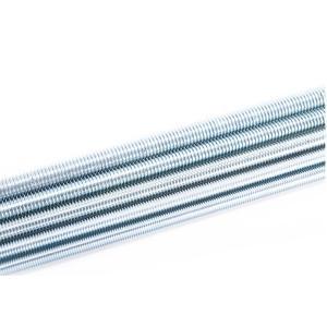Quality Anti RustFine Thread All Thread Rod , Metric Acme Threaded Rod Zn Plating wholesale