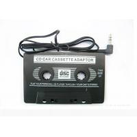 China CD Car Audio Cassette Adapter With  3.5mm Audio Headphone Jack on sale