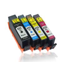 China Compatible HP 655 HP655 C M Y BK Ink Cartridge with chip For HP Deskjet 3525 4615 4625 5525 6520 6525 6625 on sale