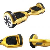 China Gold Mini 2 Wheel Electric Standing Scooter 250W Stand On Scooter With 2 Wheels on sale