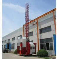 Quality Portable Construction Twin Cage Hoist 2.8T Safety Device wholesale