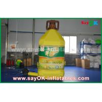 China 3mH Inflatable Bottle Custom Inflatable Products For Corn Oil Commercial Advertising on sale
