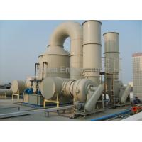 Buy cheap PP Air Pollution Scrubbers , Hydrochloric Acid Scrubber For Removing Chemical Gas Dust product