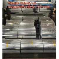 Quality Aluminum foil jumbo roll 8011 for food packaging,10 micron 300 / 290 / 280mm 8011 alloy food grade household packaging a wholesale